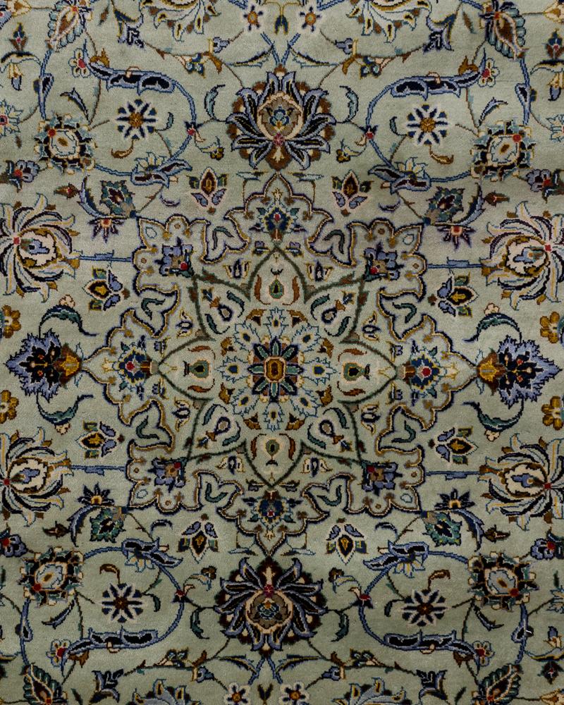 Persisk Kashan tæppe 420 x 305 cm - Persisk Kashan tæppe, uld med bomuld i målene 420 x 305 cm