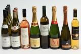 Samling hvidvine, sauternes og mousserende vine (12)