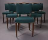 Dansk møbelproducent. Spisestole, 1940/50'erne (6)