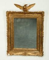 Spejl af forgyldt træ og gesso, 1900-tallet