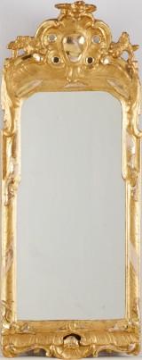 Spegel rokoko