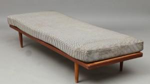 Dansk møbelproducent. Daybed  Briks, teak