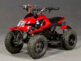 Mini-quad, benzin ATV i rød