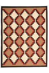 Moderne Kelim, 296x225 cm.
