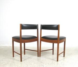 a h mcintosh esstisch st hle der 60er jahre in teak 5. Black Bedroom Furniture Sets. Home Design Ideas