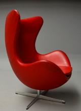 Arne Jacobsen. The Egg. Lounge chair with tilt function, model 3316