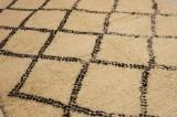 Handknuten Marockansk matta 223 x 133 cm