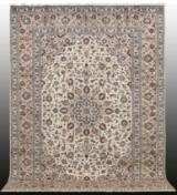 Carpet, pale Keshan, Persia, 340 x 252