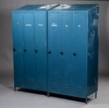 Et par lockerskabe, metal. (2)