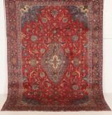 Handknuten äkta matta, Mahal, 287x205 cm
