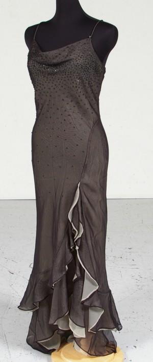 37e256bb5a4 Aftonklänning, grön med pärlapplikationer, strl ca4042 Denna auktion är  annullerad - se nu vara