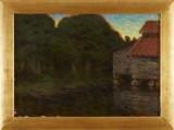 Gerda Wallander oljemålning