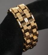 Italienisches Armband aus 18 kt. Gelbgold, ca. 68,8 g