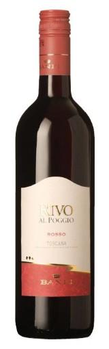 24 fl. Banfi Rivo al Poggio Rosso Toscana I.G.T. Italien.