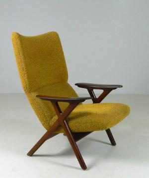 Lauritz.com - M?bler - Lenestol- norsk design og prod, 1950/60-tallet ...