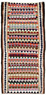 Orientalisk flatvävd matta, Kelim, 290x140 cm