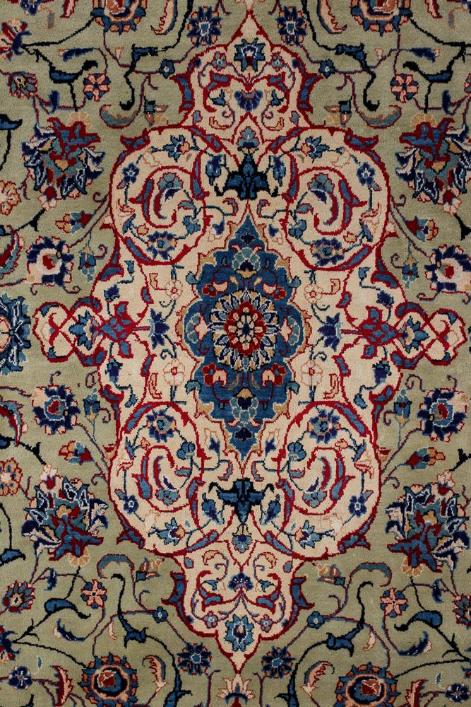 Persisk Kashmar tæppe 410 x 290 cm - Persisk Kashmar tæppe, uld med bomuld i målene 410 x 290 cm