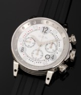 B.R.M 'Chronograph'. Over-size men's watch, steel, with automatic movement