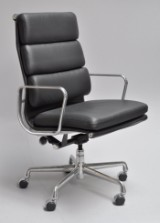 Charles Eames. Soft Pad high-backed office/conference chair, model EA-437