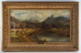 William Yoshlis/tillskriven. Oljemålning, England, 1800-tal