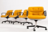 Charles Pollock, four office chairs for Knoll International (4)