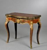 Napoleon III Boulle spillebord, Frankrig ca. 1860
