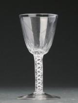 Engelsk vinglas, 1700-tallets sidste halvdel