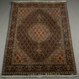 Persisk Tabriz tæppe, 200x150 cm.