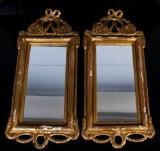 Speglar, 1 par, gustaviansk stil, 1900-tal (2)