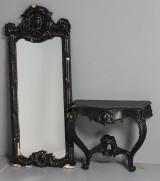 Spegel med trymå, 18/1900-tal