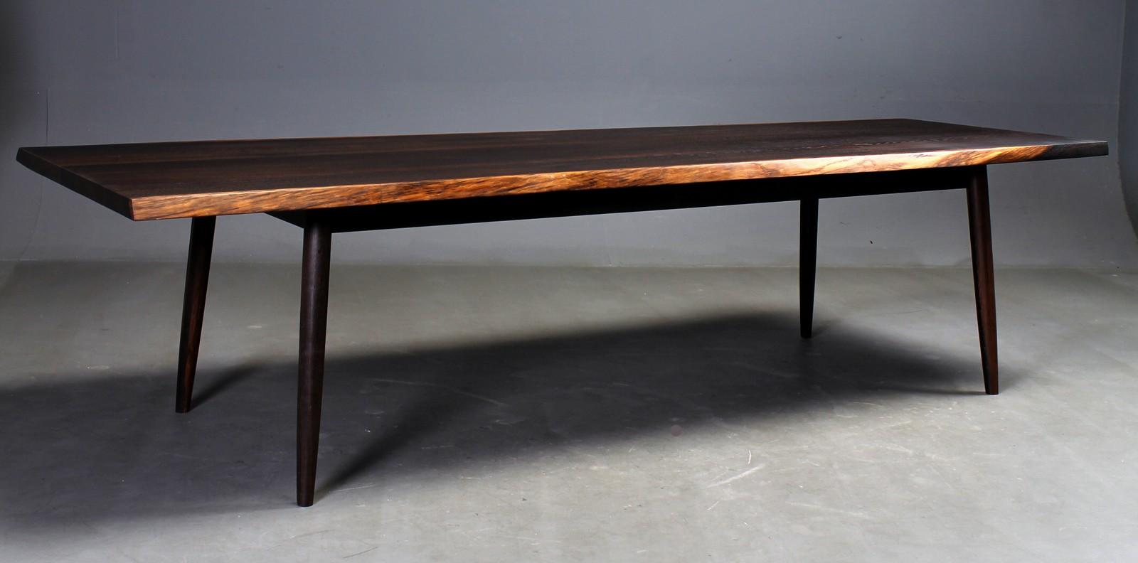 Auktionstipset - Bruno Hansen. Spisebord / Langbord / Plankebord ...