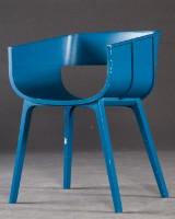 Benjamin Hubert, armchair/chair/chair model Maritime for Casamania in blue