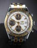 Breitling Chronomat herrearmbåndsur, guld og stål