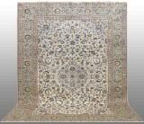 Oriental carpet, pale Keshan, 403x290 cm