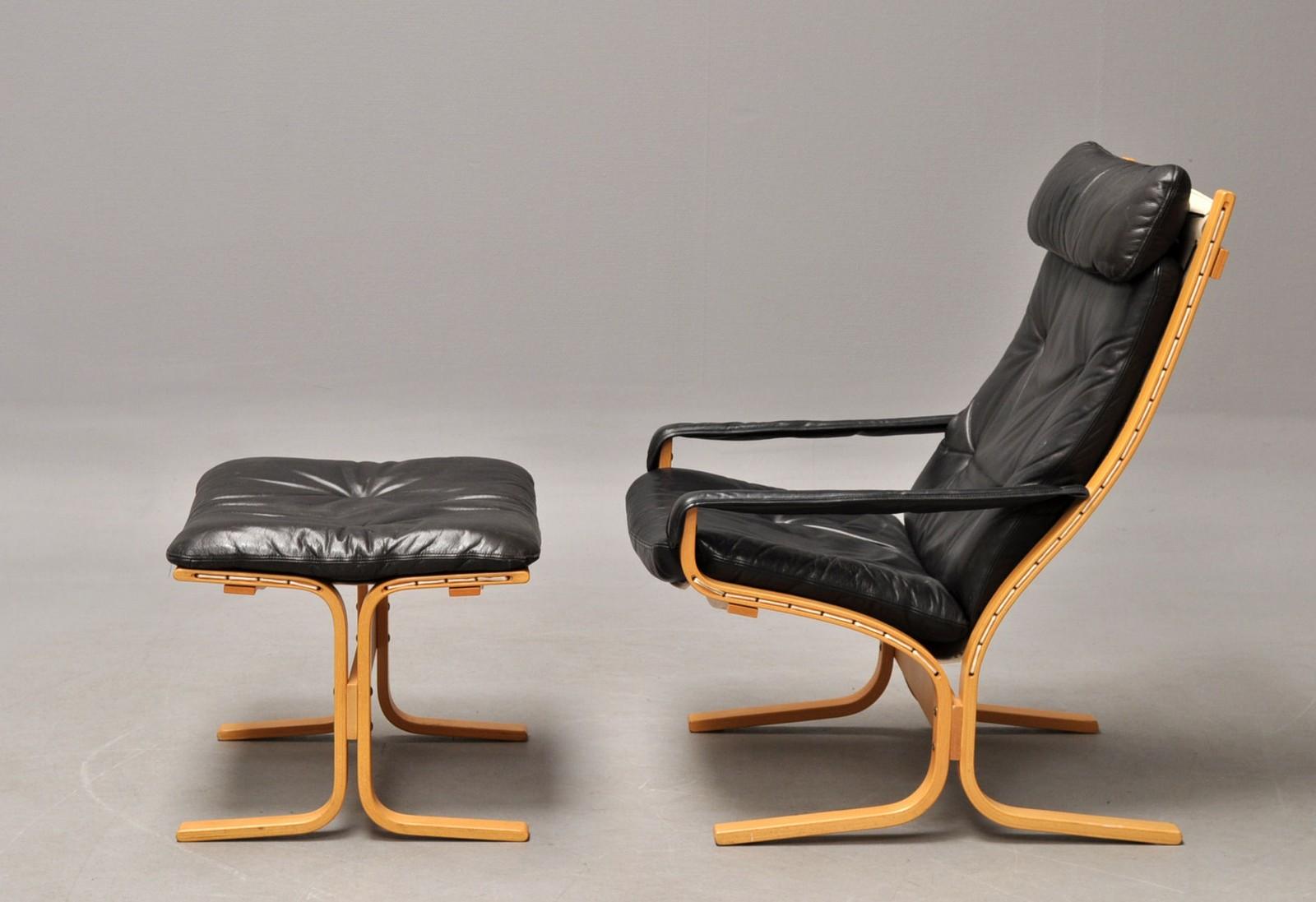 Ingmar Relling: Siesta lænestol med tilhørende skammel (2