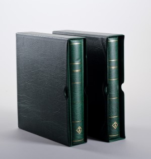Danmark. Samling i 2 Leuchtturm album fra perioden 1851 - 2009
