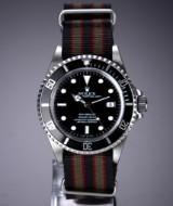 Rolex 'Sea-Dweller'. Men's watch, steel with black dial, c. 2007