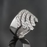 Brilliant-cut diamond ring, approx. 1.63 ct.