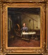 Joseph Bail. Oil on canvas