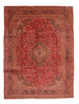 Persisk handknuten matta, Kashmar 386x290 cm