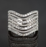 Brilliant-cut diamond ring, approx. 1.61 ct.