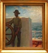 Oscar Björck, maleri