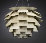 Poul Henningsen. Pendant lamp, PH Artichoke, white, Ø 84 cm