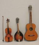 Parti musikinstrument, 3 st (3)
