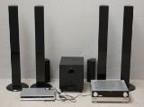 Andersson, 6.1 surround system. svart. inkl förstärkare och dvd spelare