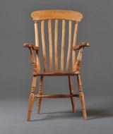 Stuhl mit Armlehnen, Neo-Barock, Skandinavien um 1890