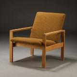 Dansk møbelproducent. Lænestol, bøgetræ
