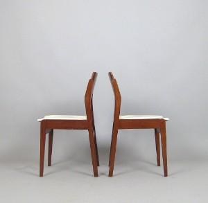 Paar Teak Stühle Der 196070er Jahre 2 Lauritzcom