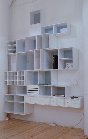 m bel montana wandregal 14 dk herlev dynamovej. Black Bedroom Furniture Sets. Home Design Ideas