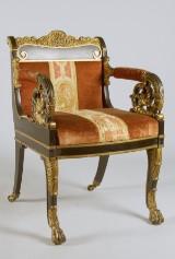 Karmstol, Empire, Ryssland, 1830/40-tal Denna vara har satts till omförsäljning under nytt varunummer2836299